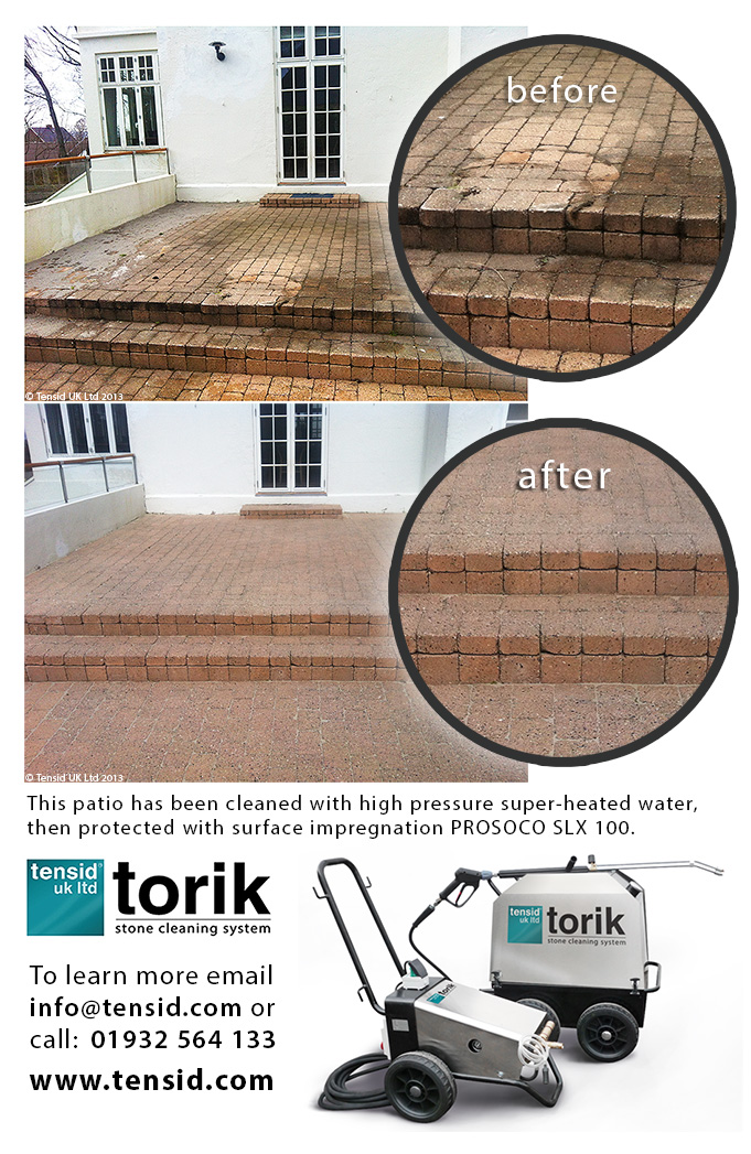TORIK Stone Cleaning System and SLX 100