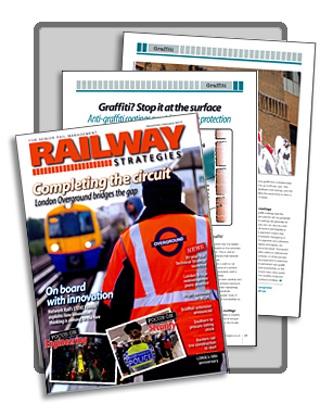 Railway Strategies magazine - Tensid's anti graffiti coatings