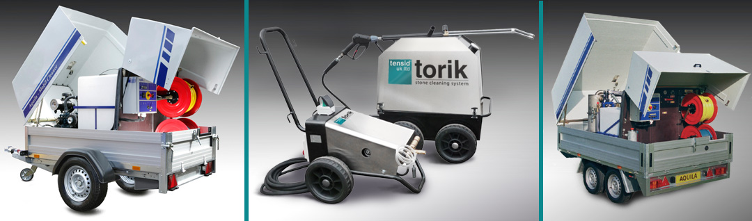 HIRE professional industrial pressure washers - trusted supplier Tensid UK Ltd