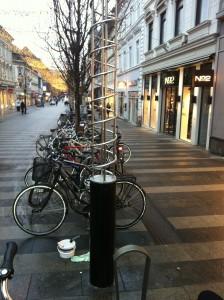 The Street in Arhus, Denmark